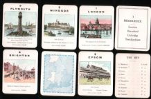 "Collectible cards game Counties of England, 4 th series ""Southern"" by Jaques & Son"